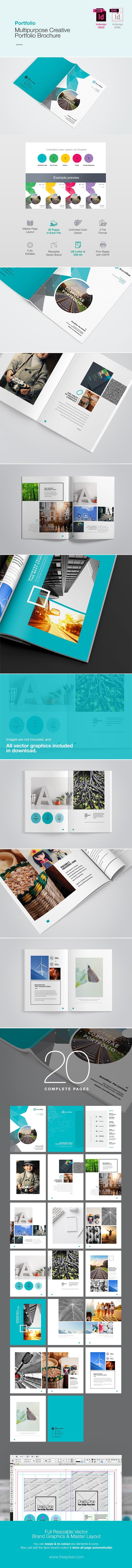 Multipurpose Creative Portfolio Brochure