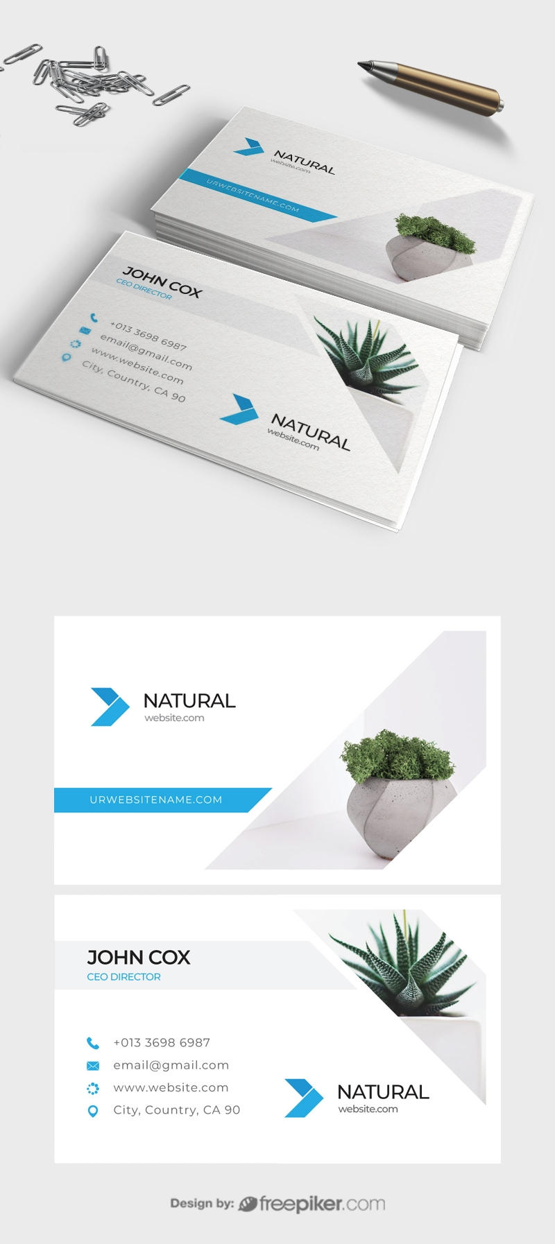 Natural Business Card
