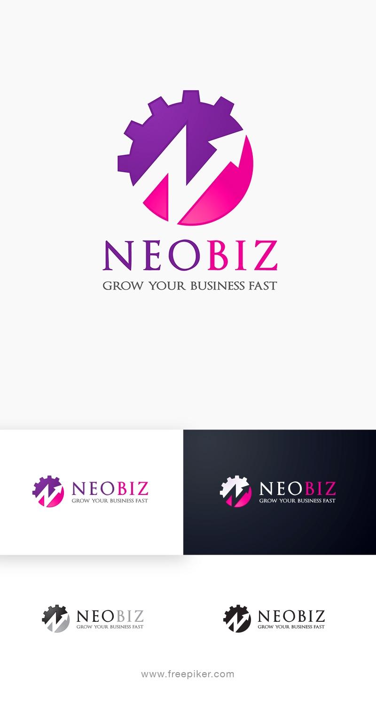 NeoBiz | Marketing Business N Letter Logo