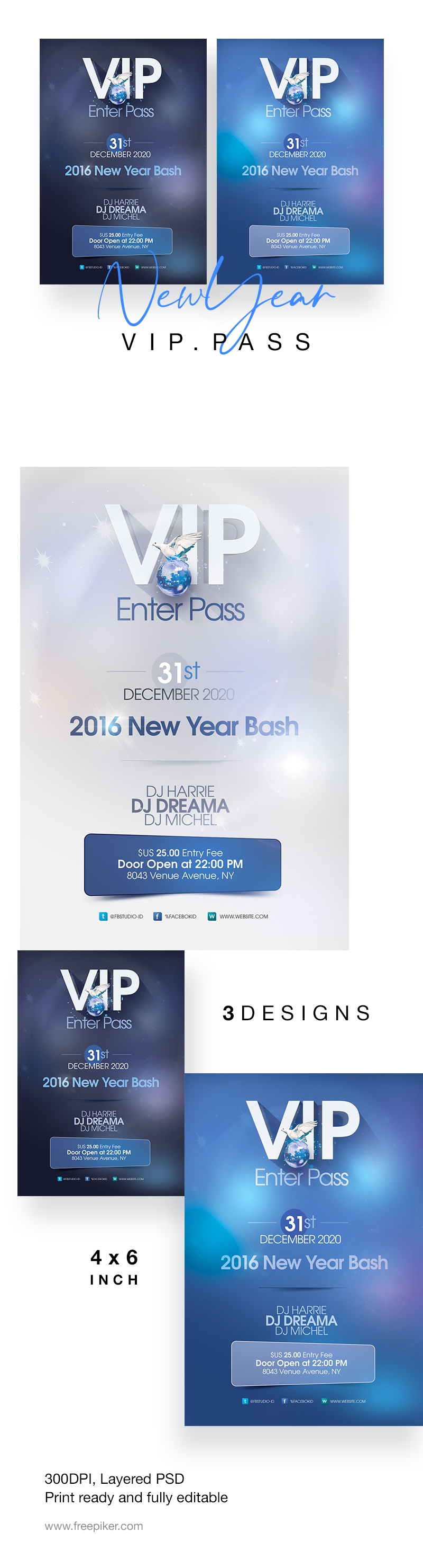 New Year Event VIP Pass / Ticket