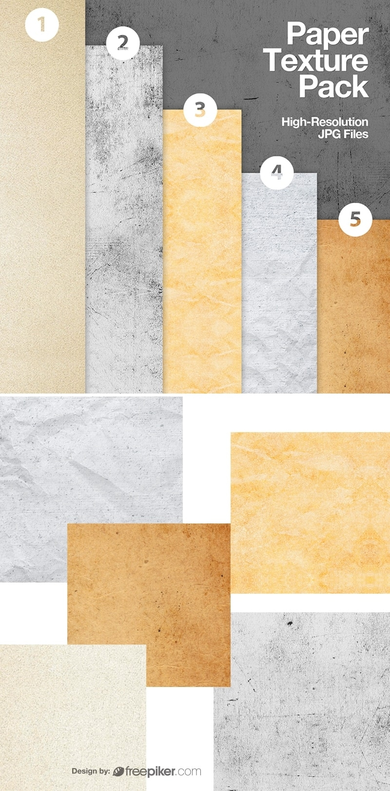 Old Paper Texture Collection Pack