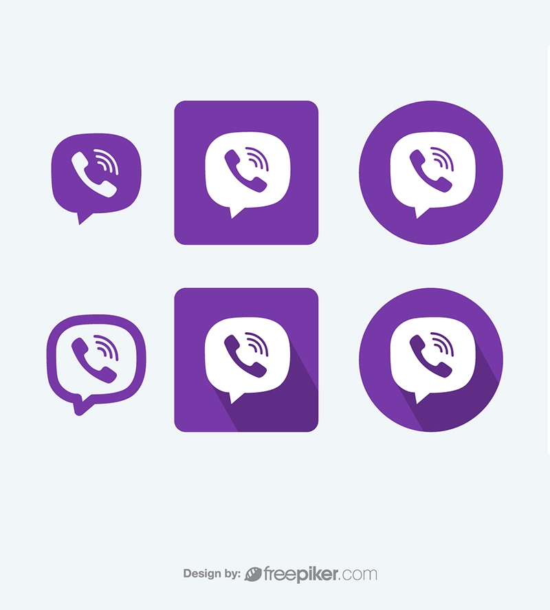 Viber Vector Icons