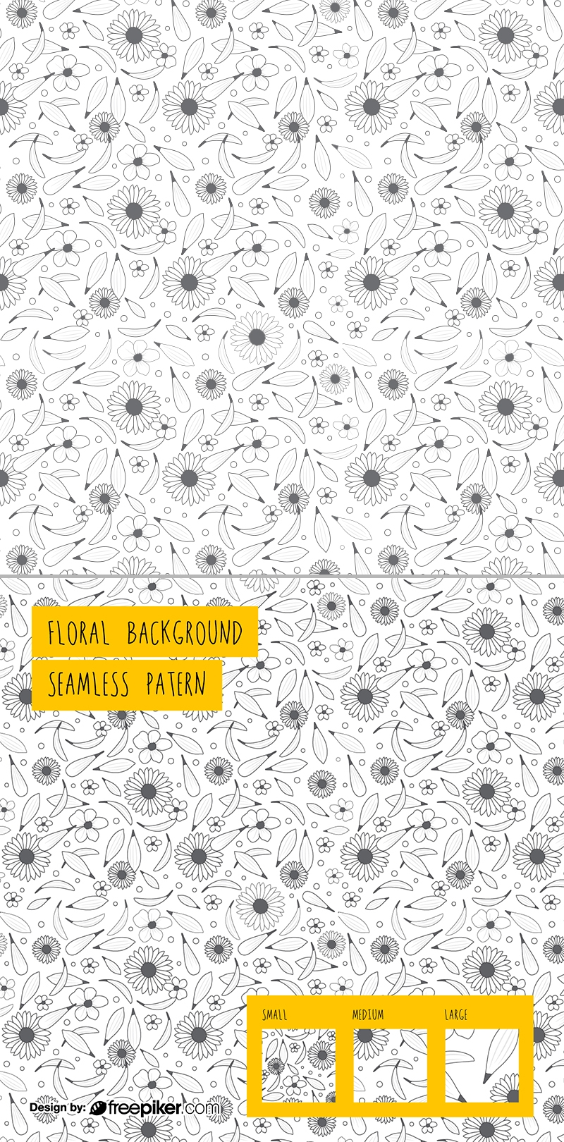 Floral Background Seamless Pattern