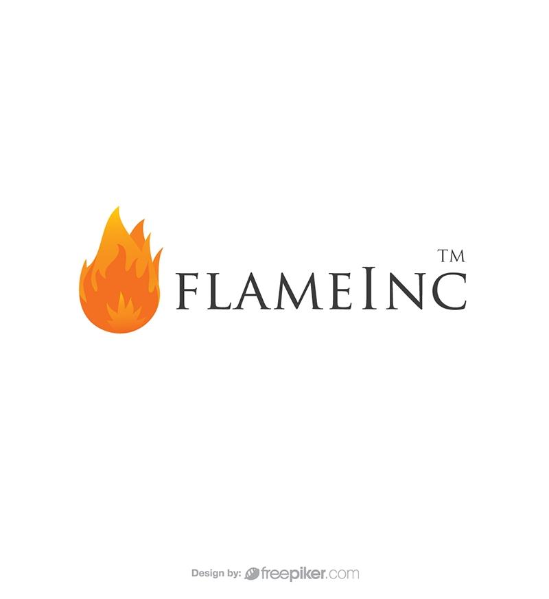 Flame Fire Logo