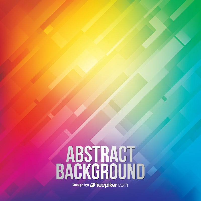 Multicolor Abstract Creative Background with Colorful Stripes