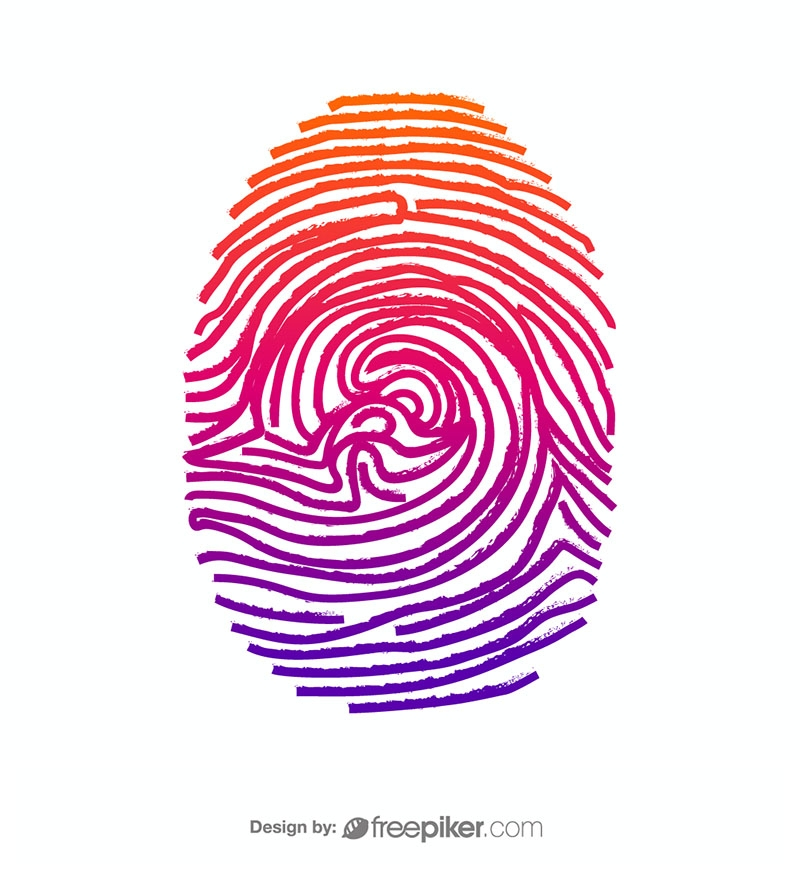 Fingerprint Thumb Vector