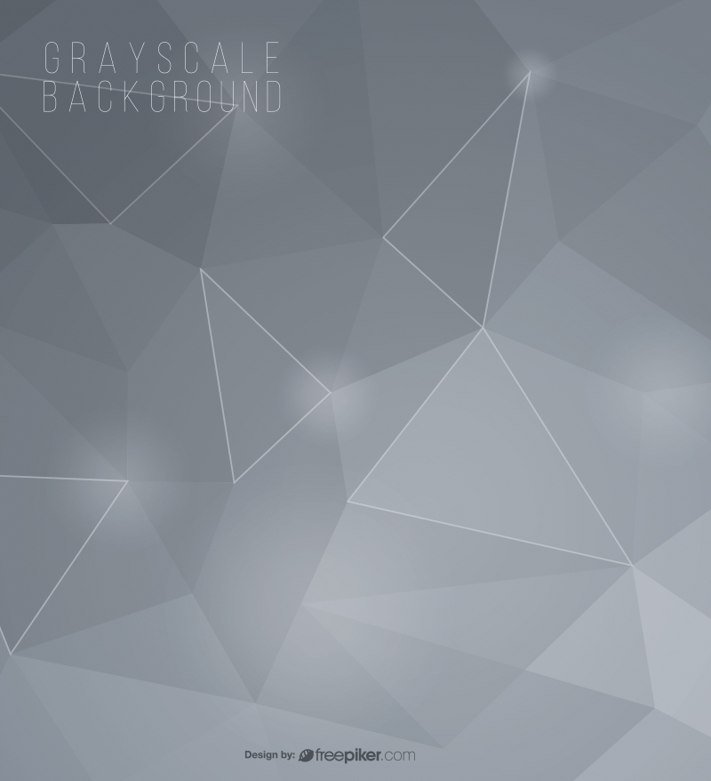Abstract Geometric Gray Background