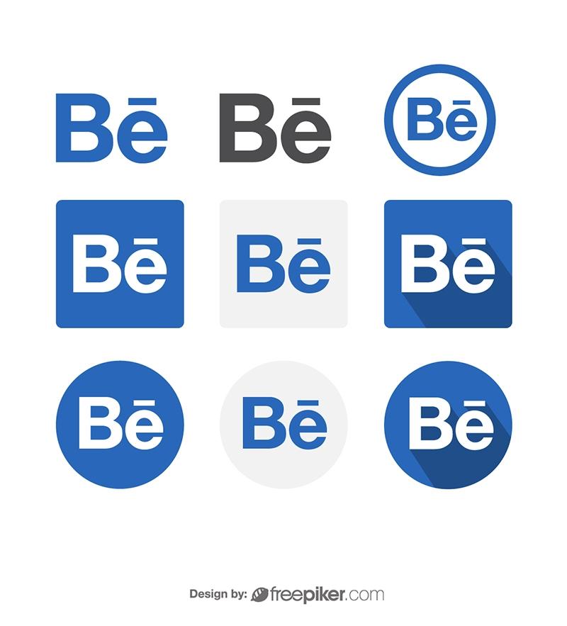 Behance Social Media Icon Vector Icons