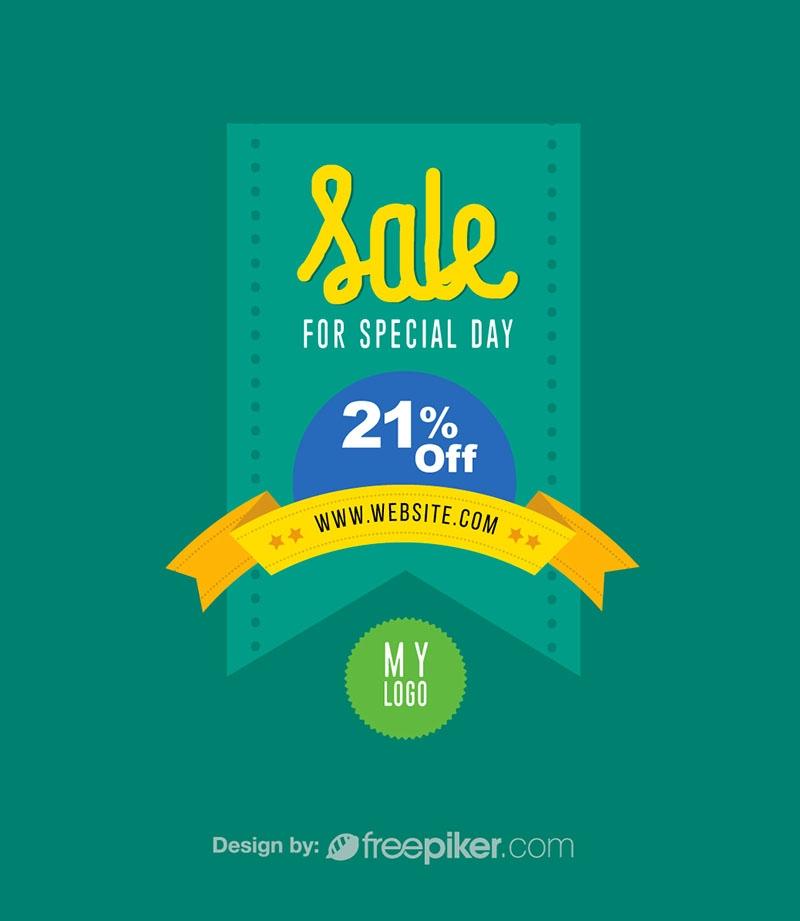 Discount & Sale Retro Banner