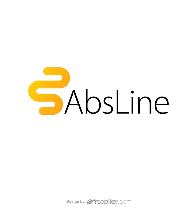 Abstract Line Minimal & Simple Logo