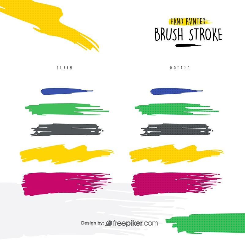 Hand Painted Brush