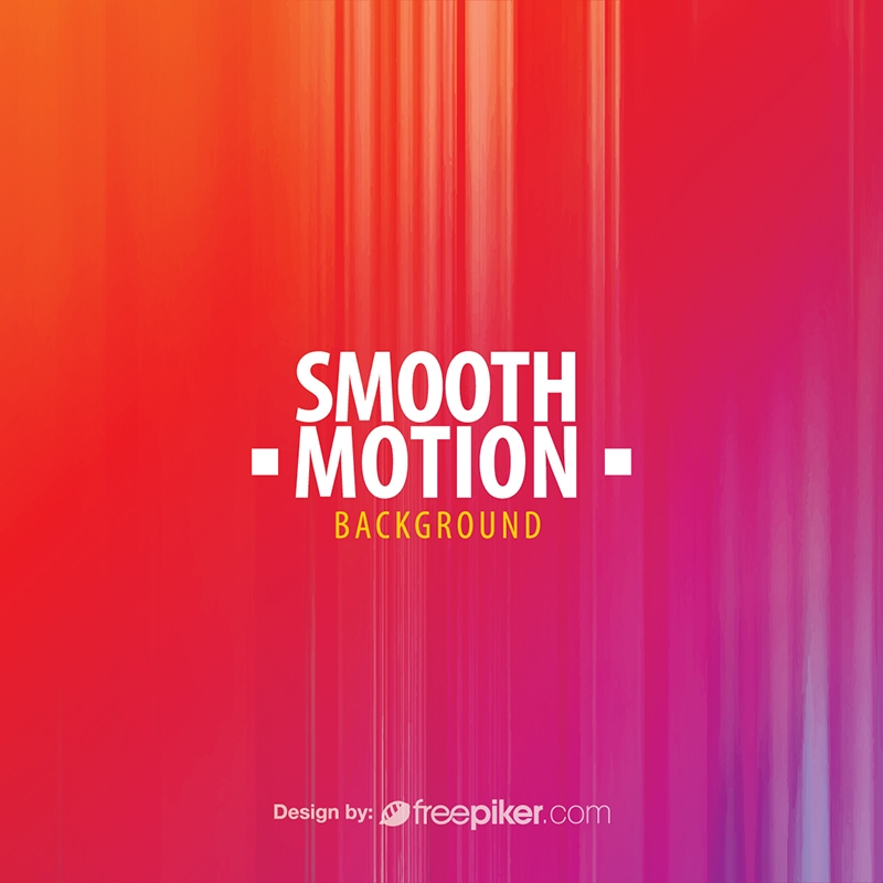Colorful Smooth Motion Background