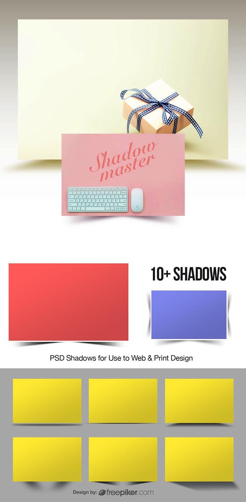 Realistic Print & Web Shadows