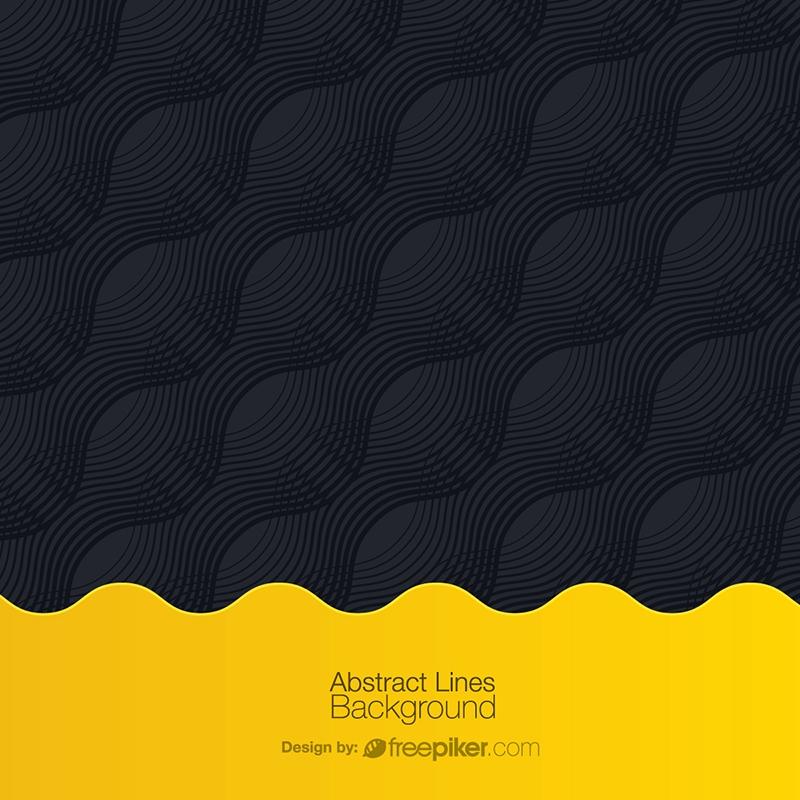 freepiker black yellow abstract creative background