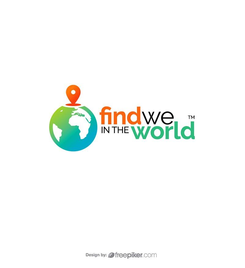 Freepiker find world map tracking globe logo find world map tracking globe logo gumiabroncs Choice Image