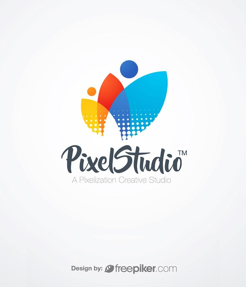 PixelStudio Creative Logo