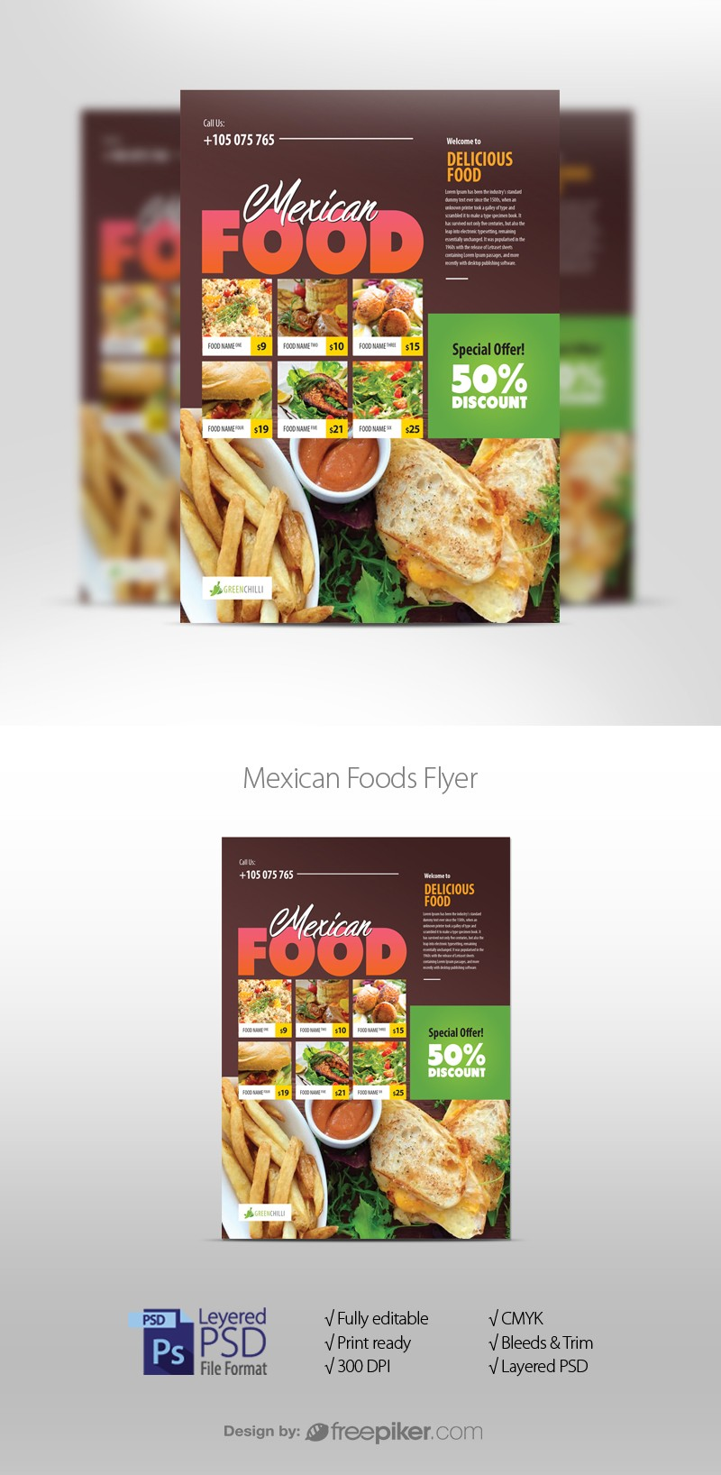 Mexican Foods Flyer