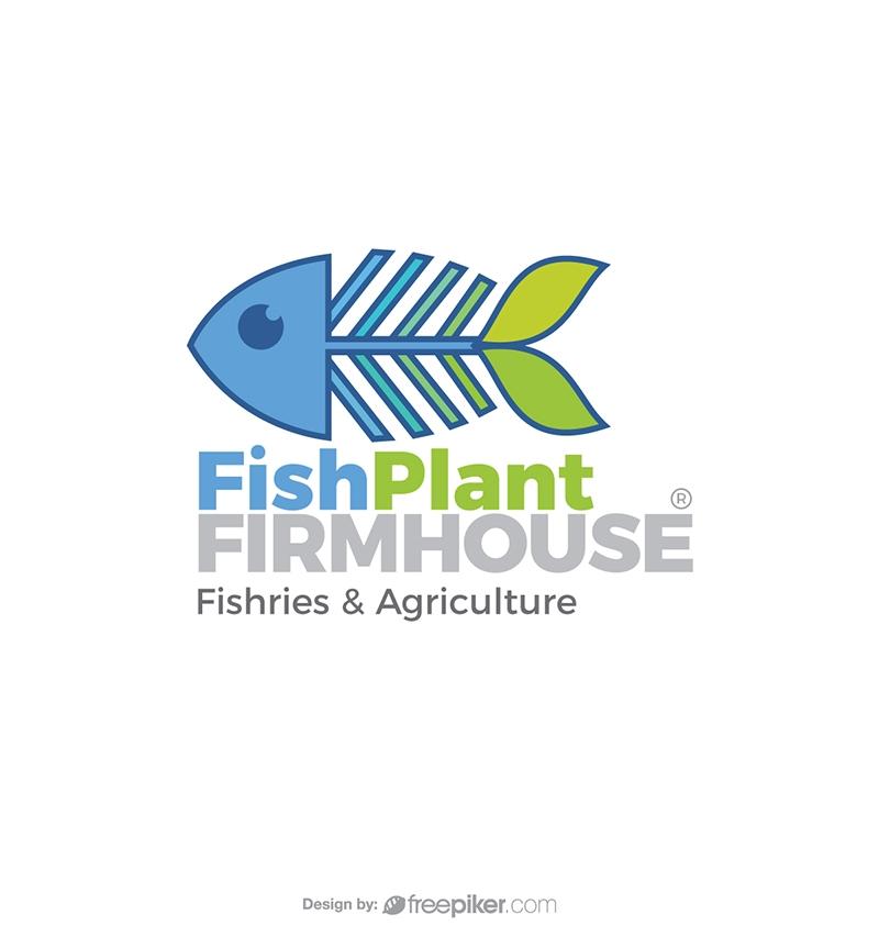 Finisheries & Agriculture Fish Plan Symbol Logo