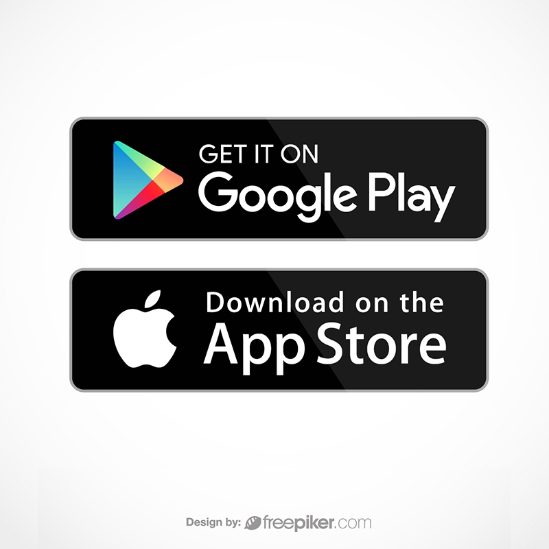 Google Play & App Store Icon