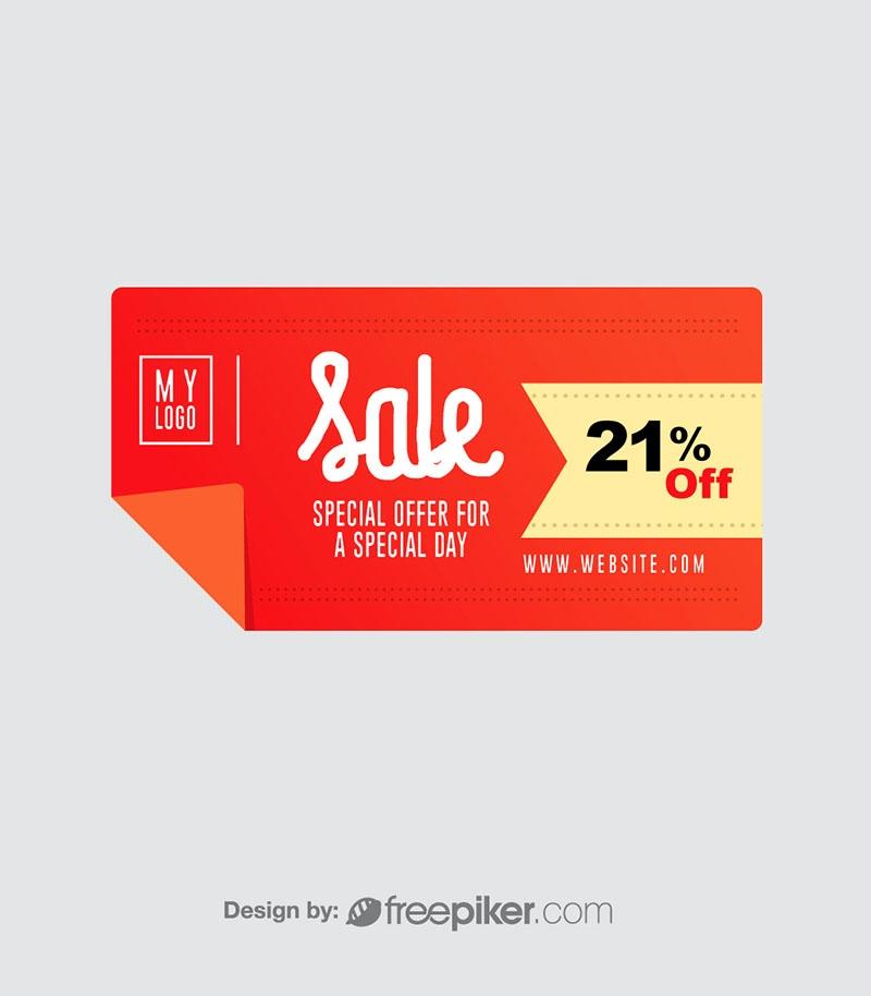 Discount Retro Web Banner