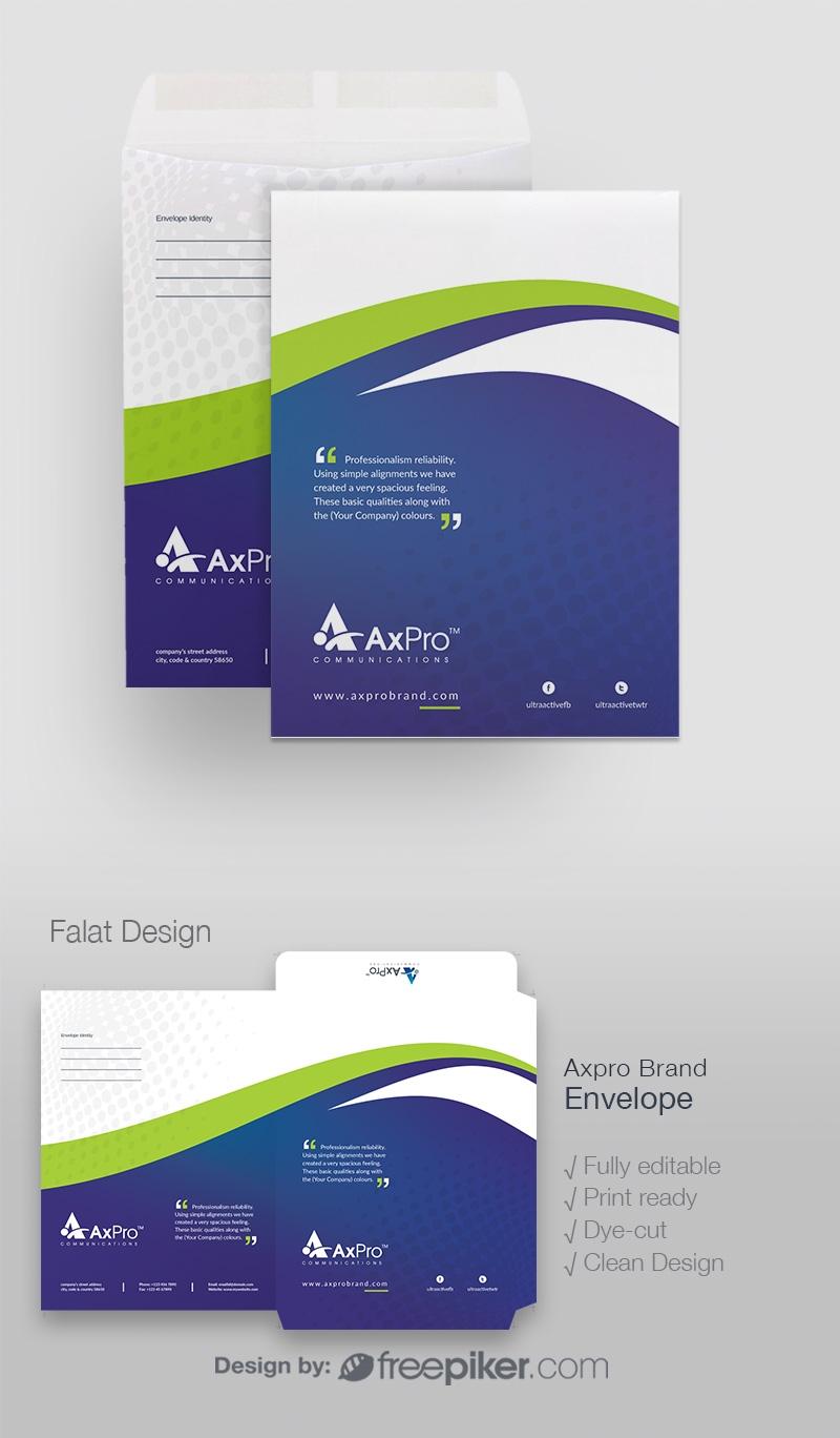 Quote Brand Catalog Envelope