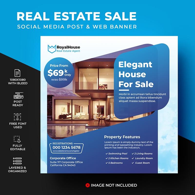Real Estate Social Media Template