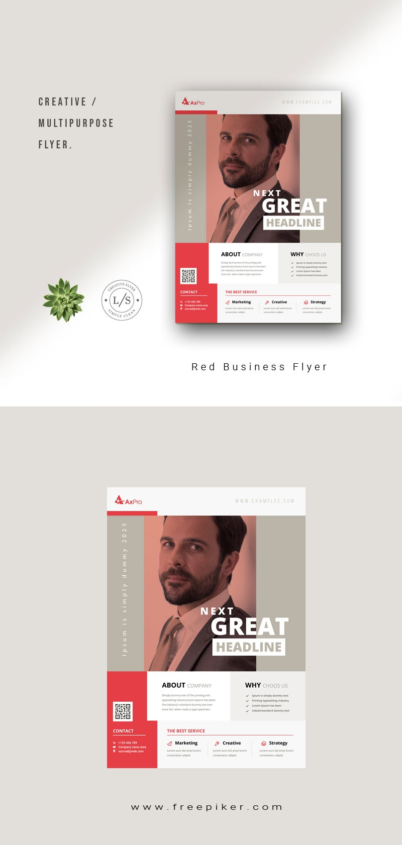 Red Business Flyer