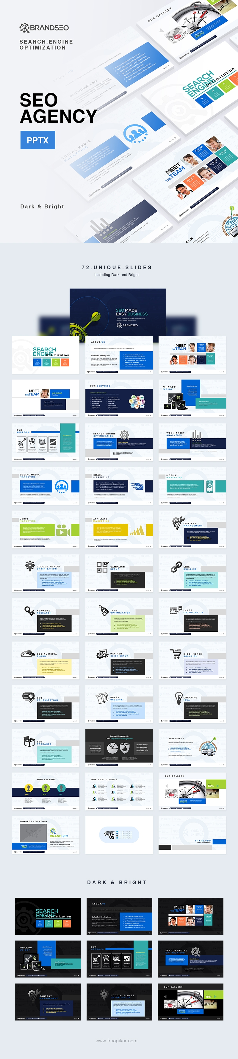 SEO PowerPoint for SEO Services Agency | BrandSEO
