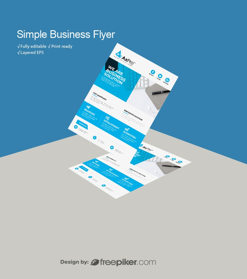Simple Business Flyer