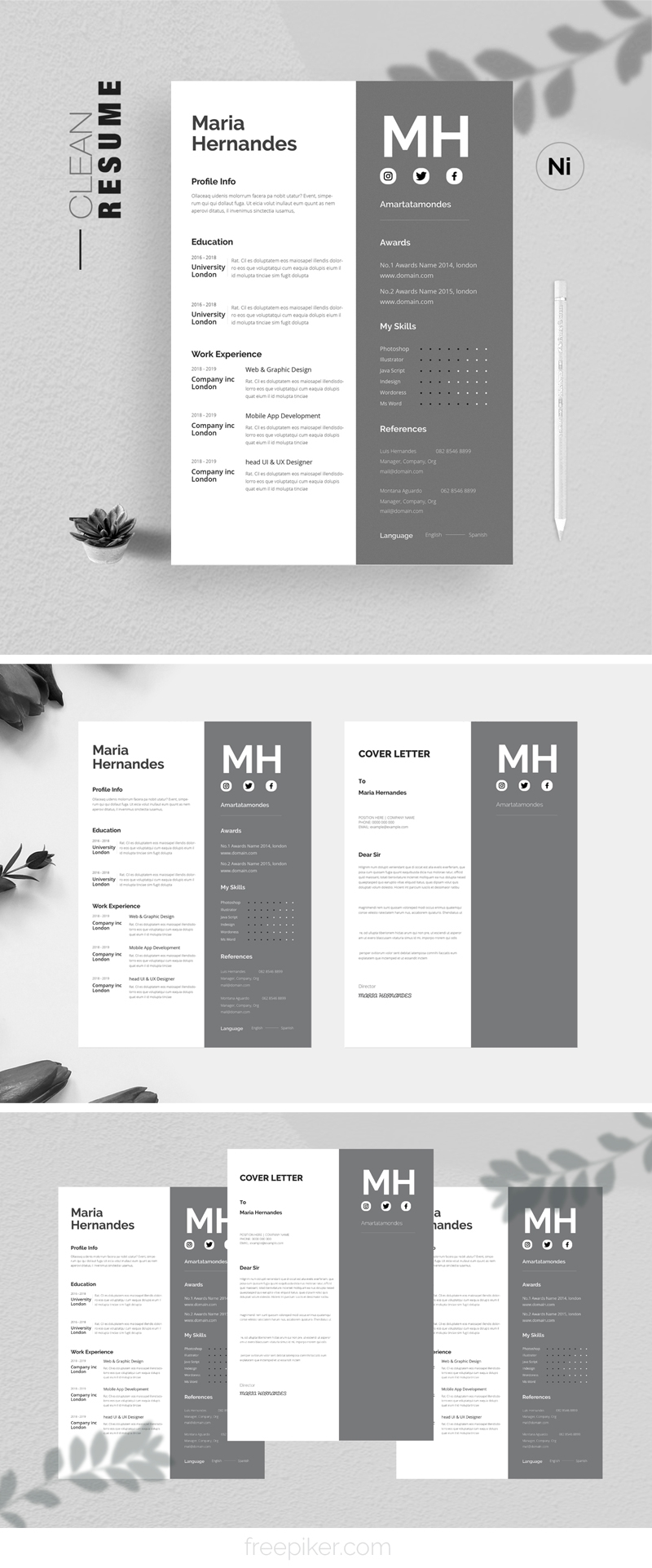 Simple Clean Resume