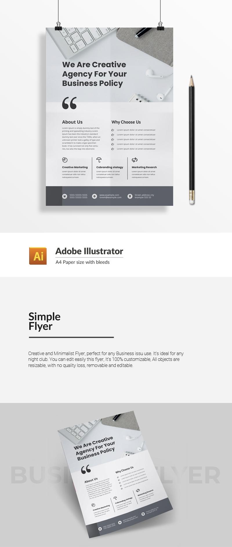 Simple Flyer