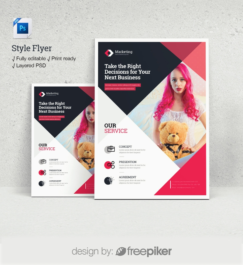 Style Flyer Template