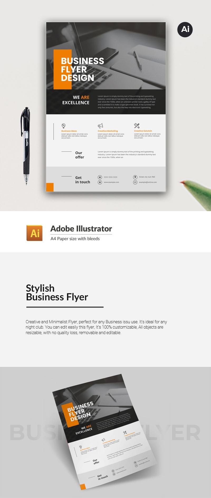 Stylish Business Flyer