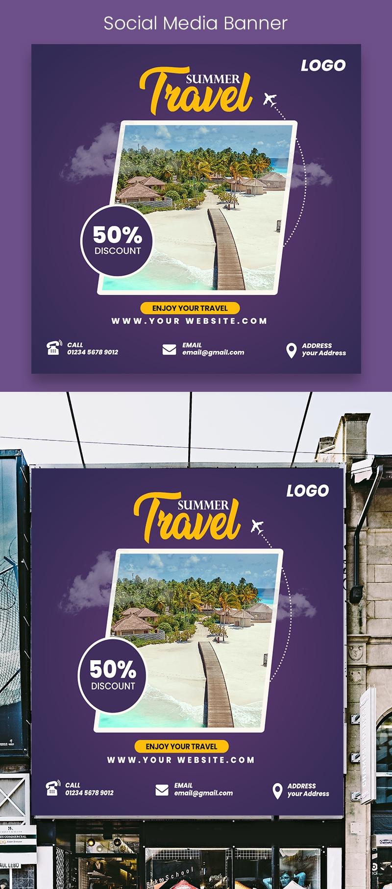 Summer Travel Banner
