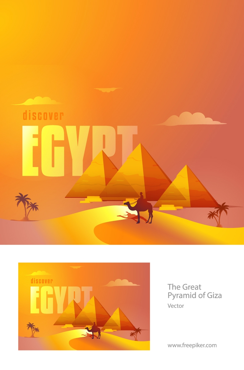 The Great Pyramid Of Giza - Egypt