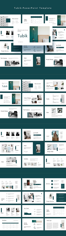 Tubik PowerPoint Template