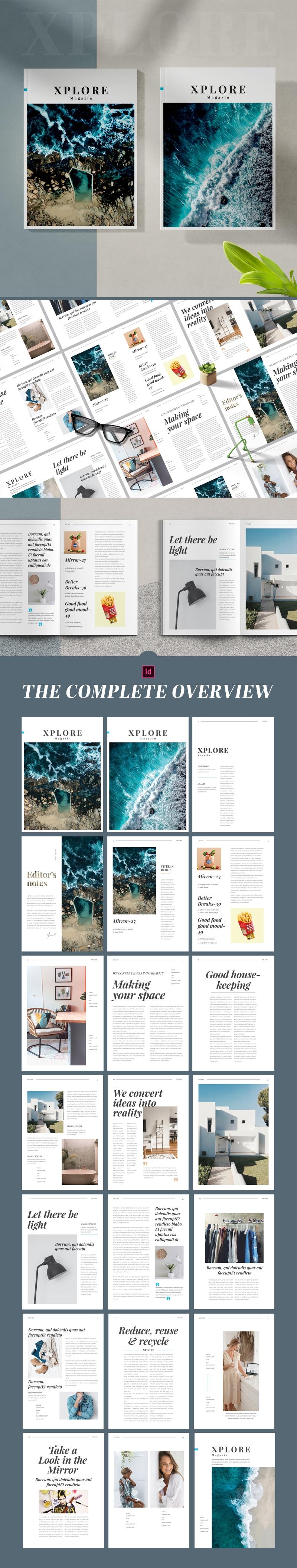 Xplore Magazin Tempalte
