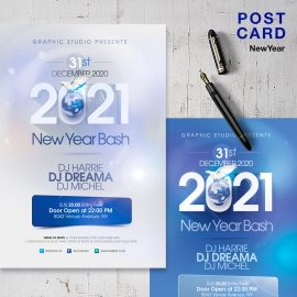 2021 New Year PostCard