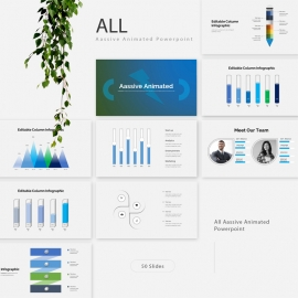 Aassive Animated Powerpoint PresentationTemplate