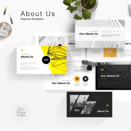 About Us Keynote Template