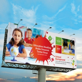 Admission School Billboard Sinage
