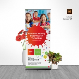 Admission School Rollup Banner