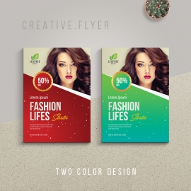 Advertisement Fashion Flyer Template