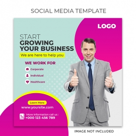 Agency Social Media Template