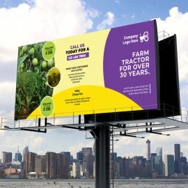 Agriculture Billboard Sinage