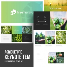 Agriculture Keynote Template