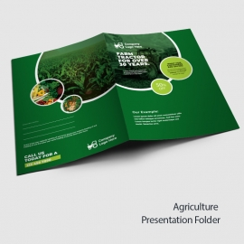 Agriculture Presentation Folder