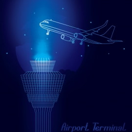 Airport Vector Design