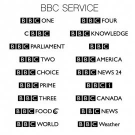 All BBC Service Logo