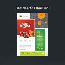 American Fruits & Health Flyer